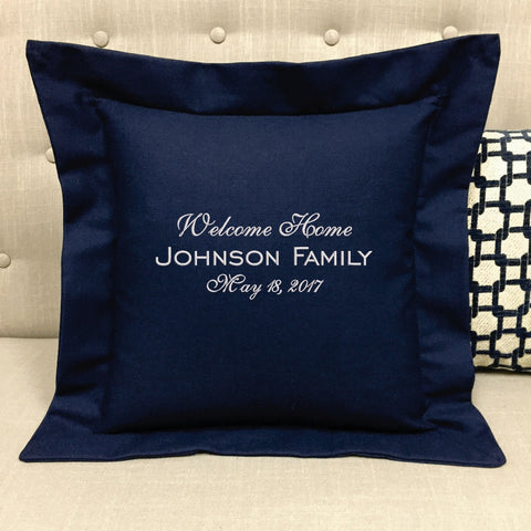Welcome Home Gift Pillow Forever Pillows