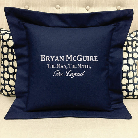 The Man, The Myth, The Legend Custom Gift Pillow