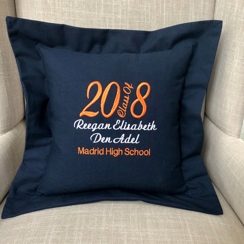 Gift for Graduate Personalized | Forever Pillows