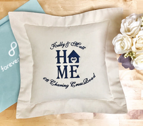 Home Heart Pillow