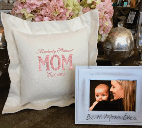 Mother's Day gift | Forever Pillows | Custom Pillows | Gift for Mom