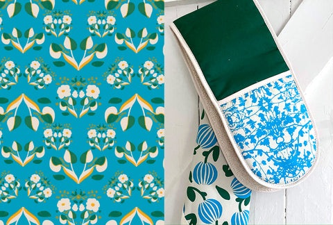 Edge of the Meadow Oven Gloves and Tea Towels