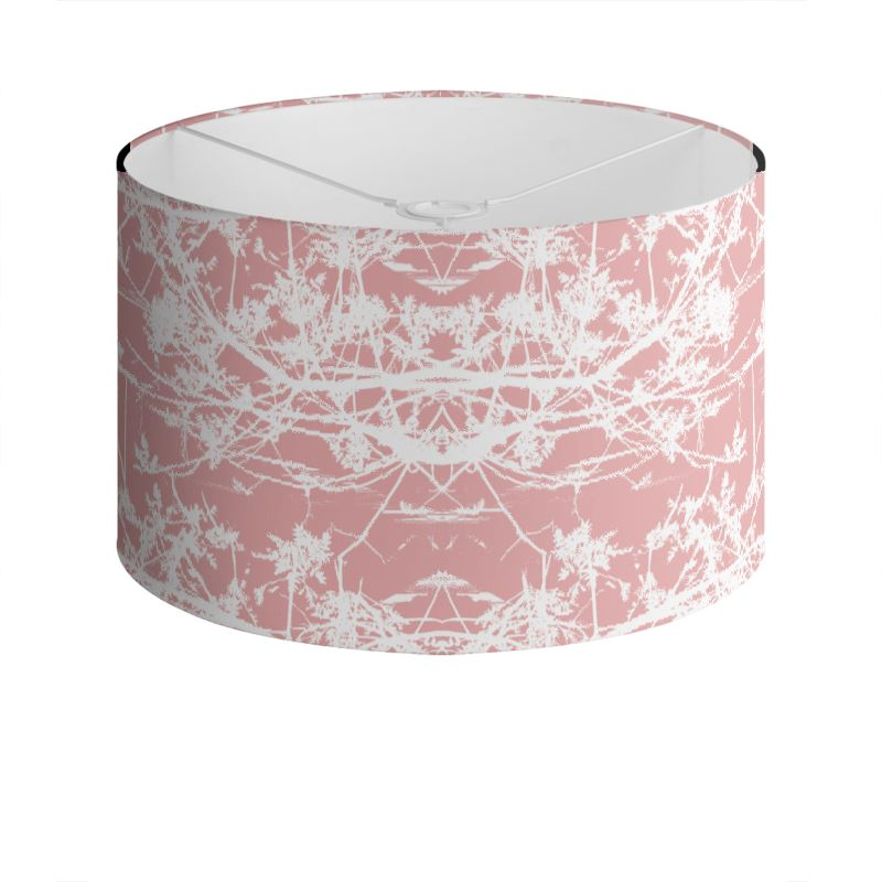 Star Vine Rose Drum Lamp Shade
