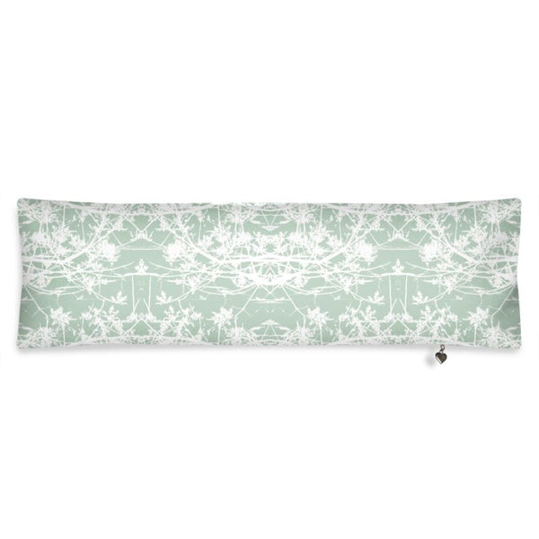 Star Vine Mint Bolster Cushion