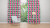 Edge of the Meadow pink and Green Teasel fabric suitable for upholstery.