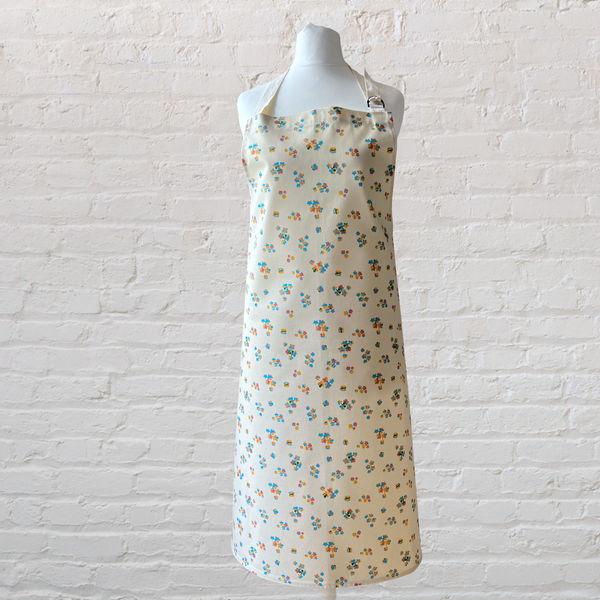 Edge of the Meadow Cottage Floral Apron