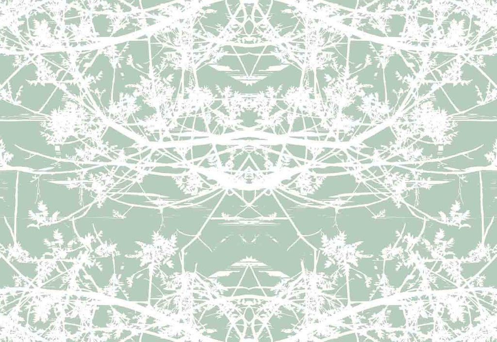 Star Vine Printed Fabric