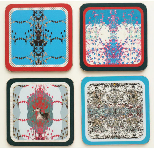 Meadow Coasters -Set of 4