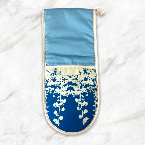Arctic Blue Oven Gloves
