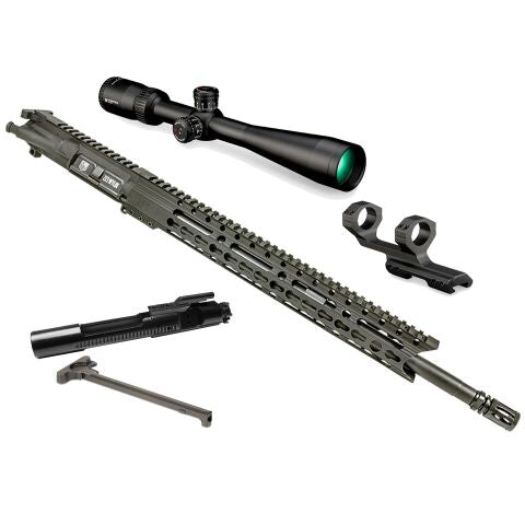 "*BUNDLE* Upper Assembly 18"" DB15 223 Wylde Elite With 15"" Keymod Rail, Black AND Vortex Diamondback Tactical 4-12x40 Rifle Scope"