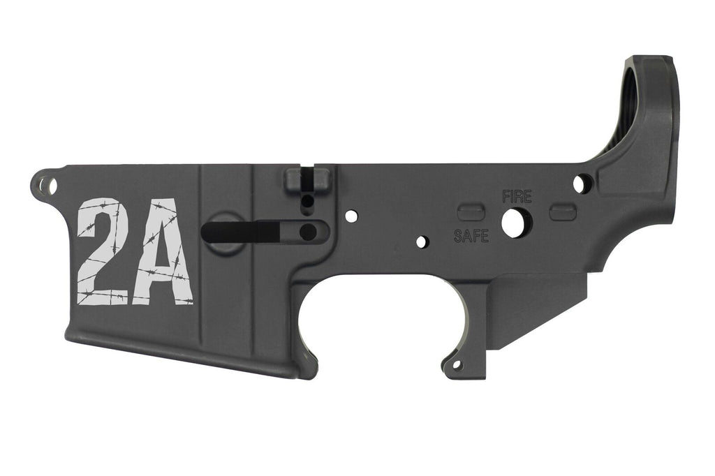 DB15 223/556/300 Blackout Limited Edition Lasered 2A  Stripped Rifle Lower,  Black, No Magazine.......MUST PROVIDE A VALID FFL