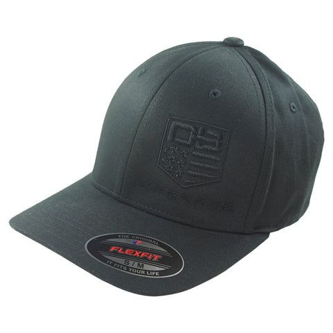 Diamondback Firearms Flexfit Style Hat, Black with Black Logo