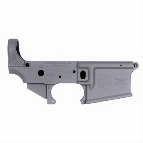 BLEMISHED DB15 223/556/300BO Multi Rifle Lower, Tactical Gray, Stripped No Magazine.......MUST PROVIDE A VALID FFL