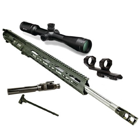 "*BUNDLE* Upper Assembly 20"" 6.5 Creedmoor With 15"" Keymod Rail AND Vortex Viper HS-T 4-16x44 Rifle Scope"