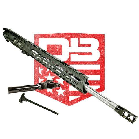 "Upper Assembly 20"" 6.5 Creedmoor Rifle Length with 15"" M-Lok Elite Rail, Black WITH AZIMUTH BCG & CH"