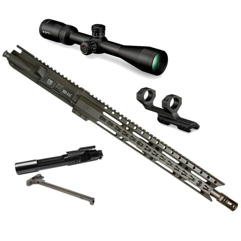 "*BUNDLE* Upper Assembly 16"" DB15 300 Blackout Elite With 15"" Keymod Rail, Black AND Vortex Diamondback Tactical 3-9x40 Rifle Scope"
