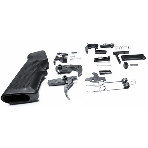 Lower Parts Kit with Grip, AR15