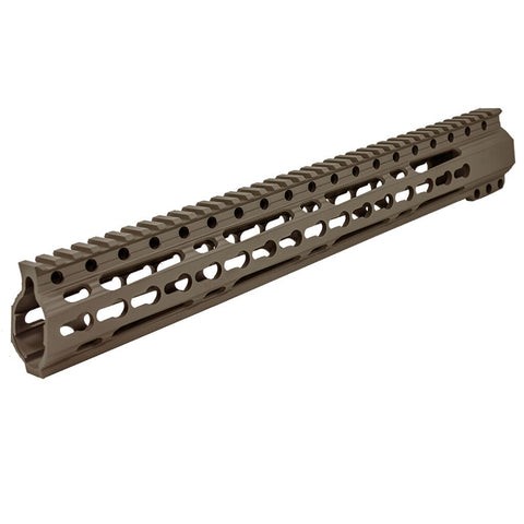 "Rail Assembly, DB15 ELITE C 15"" Handguard,  Flat Dark Earth"