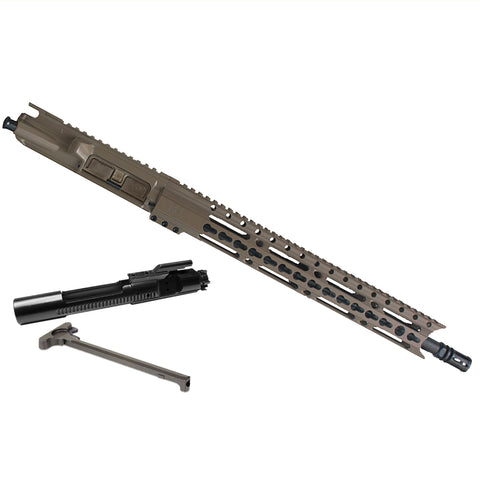 "Upper Assembly 16"" 300 Blackout  with 15"" Elite Rail, Flat Dark Earth WITH AZIMUTH BCG & CH"