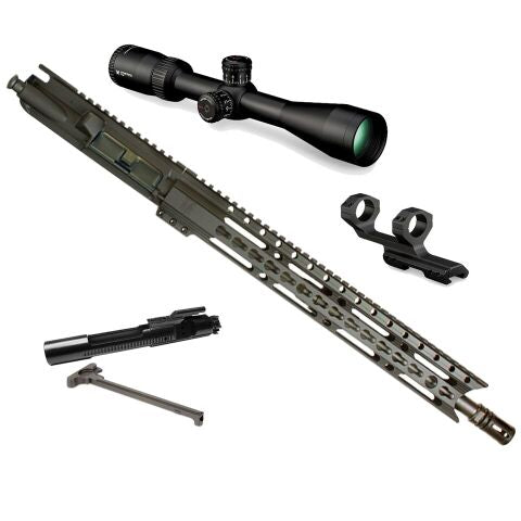 "*BUNDLE* Upper Assembly 16"" DB15 2.23/5.56 Elite With 15"" Keymod Rail, Black AND Vortex Diamondback Tactical 3-9x40 Rifle Scope"