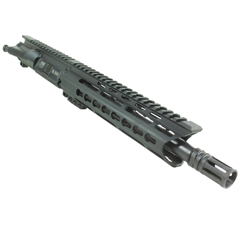 "Upper Assembly 10.5"" 5.56  with 9.5"" C Rail, Black-No BCG or CH"