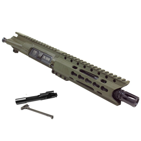 "Upper Assembly, 7.5"" 5.56/.223 with 6"" C Rail, Olive Drab Green-WITH AZIMUTH BCG AND CH"