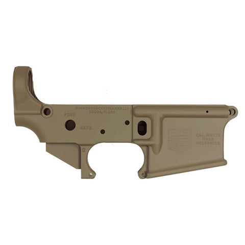 DB15 223/556/300 Blackout Stripped Rifle Lower,  Flat Dark Earth, No Magazine.......MUST PROVIDE A VALID FFL