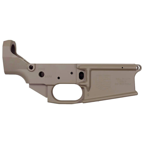 BLEMISHED DB10 .308 Stripped Flat Dark Earth Rifle Lower, WITH Front and Rear Attachment Pins, No Magazine.......MUST PROVIDE A VALID FFL