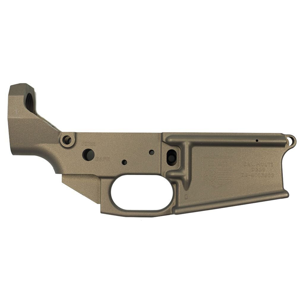 BLEMISHED DB10 .308 Stripped Burnt Bronze Rifle Lower, WITH Front and Rear Attachment Pins, No Magazine.......MUST PROVIDE A VALID FFL