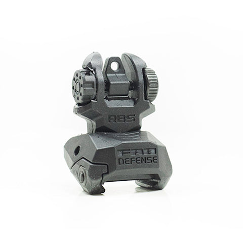 FAB DEFENSE POLYMER FLIP-UP REAR SIGHT