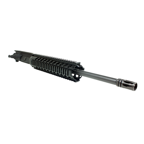 "Upper Assembly 16"" 5.56  with 10"" Quad Rail, Black WITH BCG AND CH"