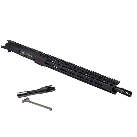 "Upper Assembly 300BO 16"" Elite with 15"" M-LOK Rail, Black-with AZIMUTH BCG & CH"