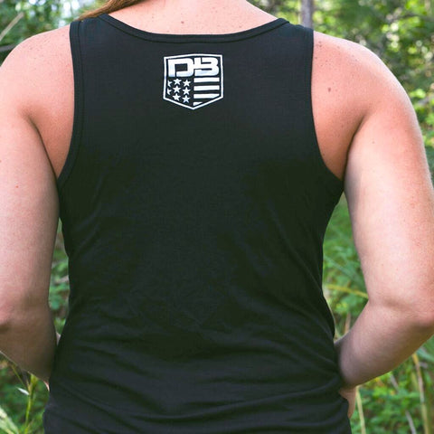 DB Ladies Black Woods Tank