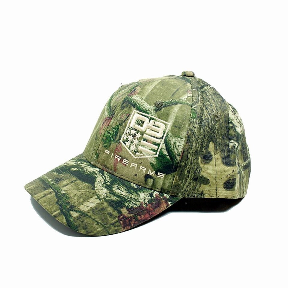 Diamondback Firearms Camo Hat, with Tan Logo