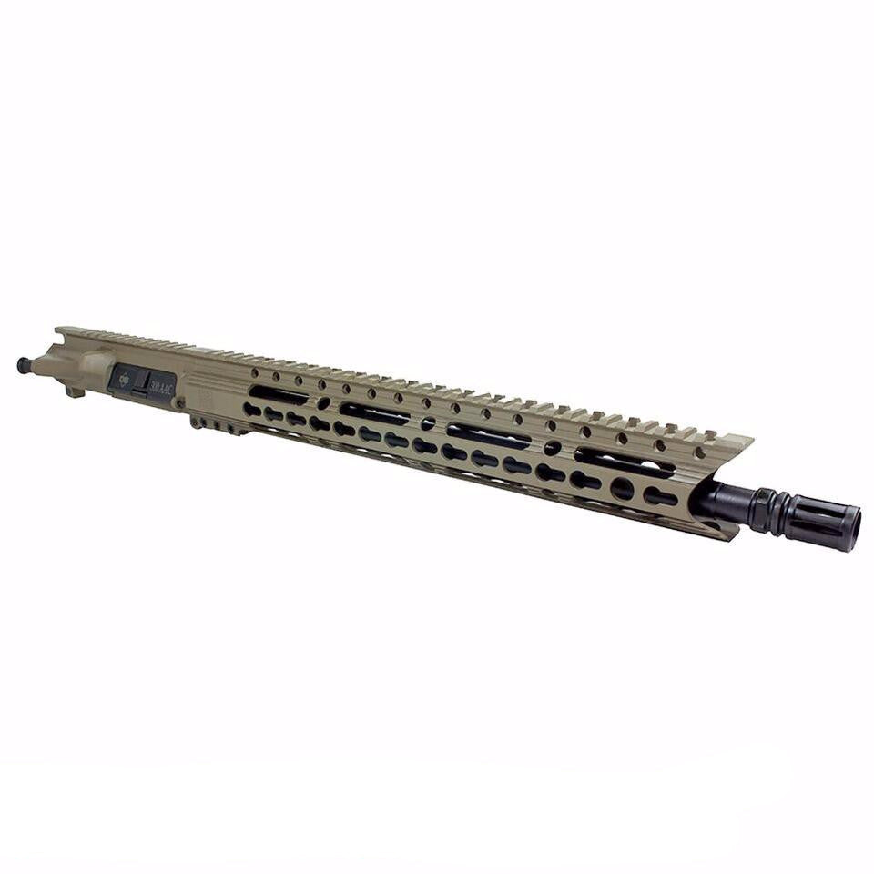 "Upper Assembly 16"" 300 Blackout  with 15"" Elite Rail, Flat Dark Earth-No BCG or CH"