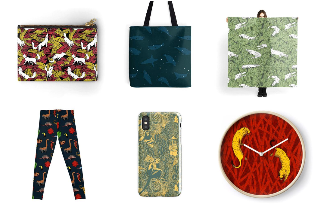 New products! VeenPrints on Redbubble