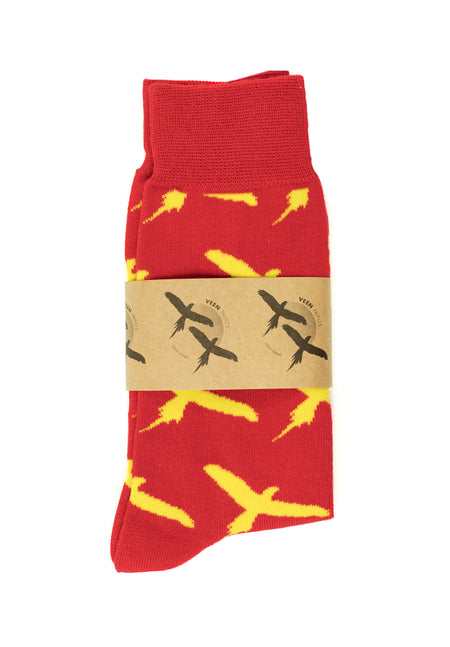 SOCKS - MACAW red