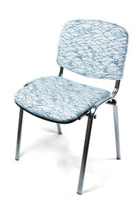 CHAIR - SHARKS white & blue