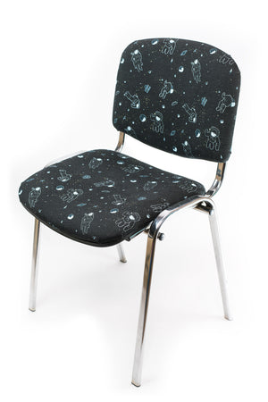 CHAIR - ASTRONAUTS black & blue