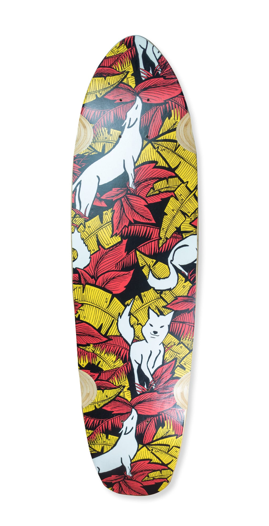 LONGBOARD DECK - FOX