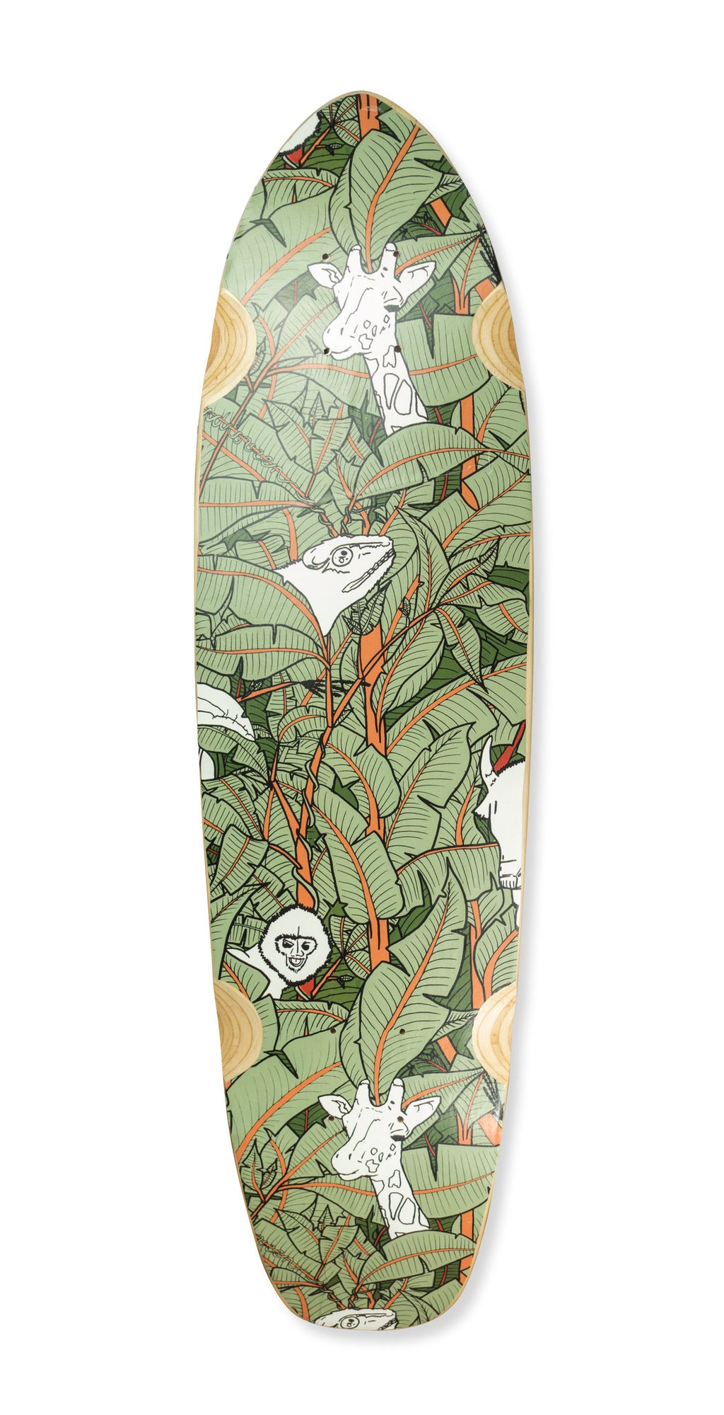 LONGBOARD DECK - JUNGLE