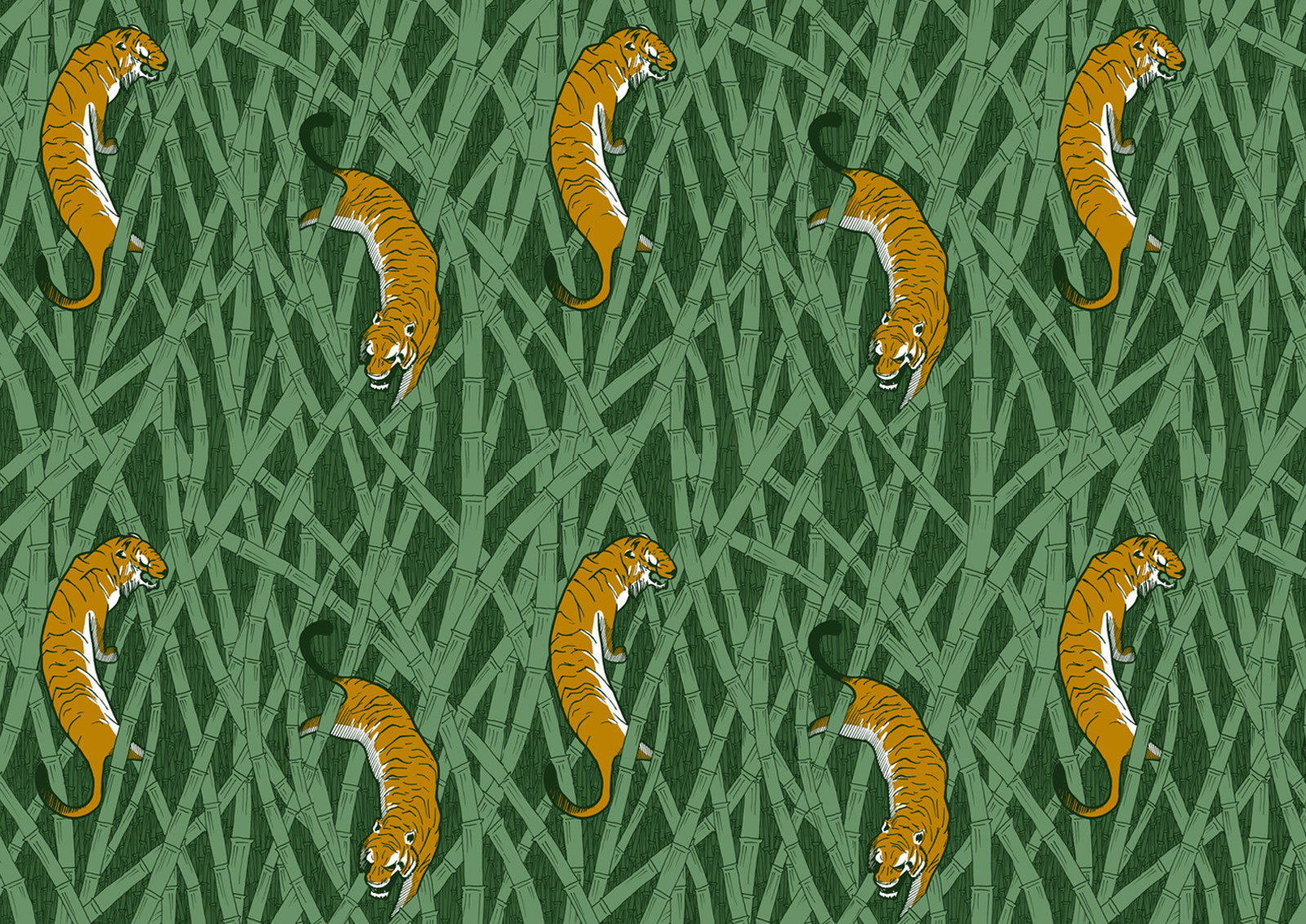 WALLPAPER - TIGERS
