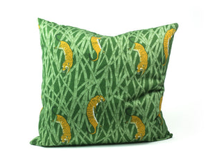 CUSHION - TIGERS green