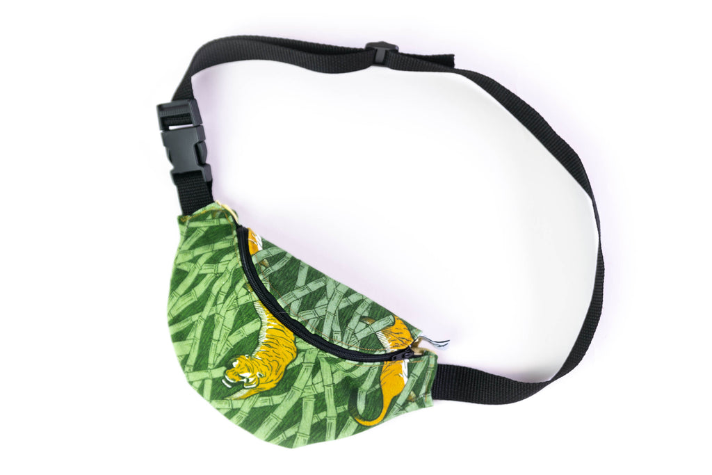 FANNY PACK - TIGERS green
