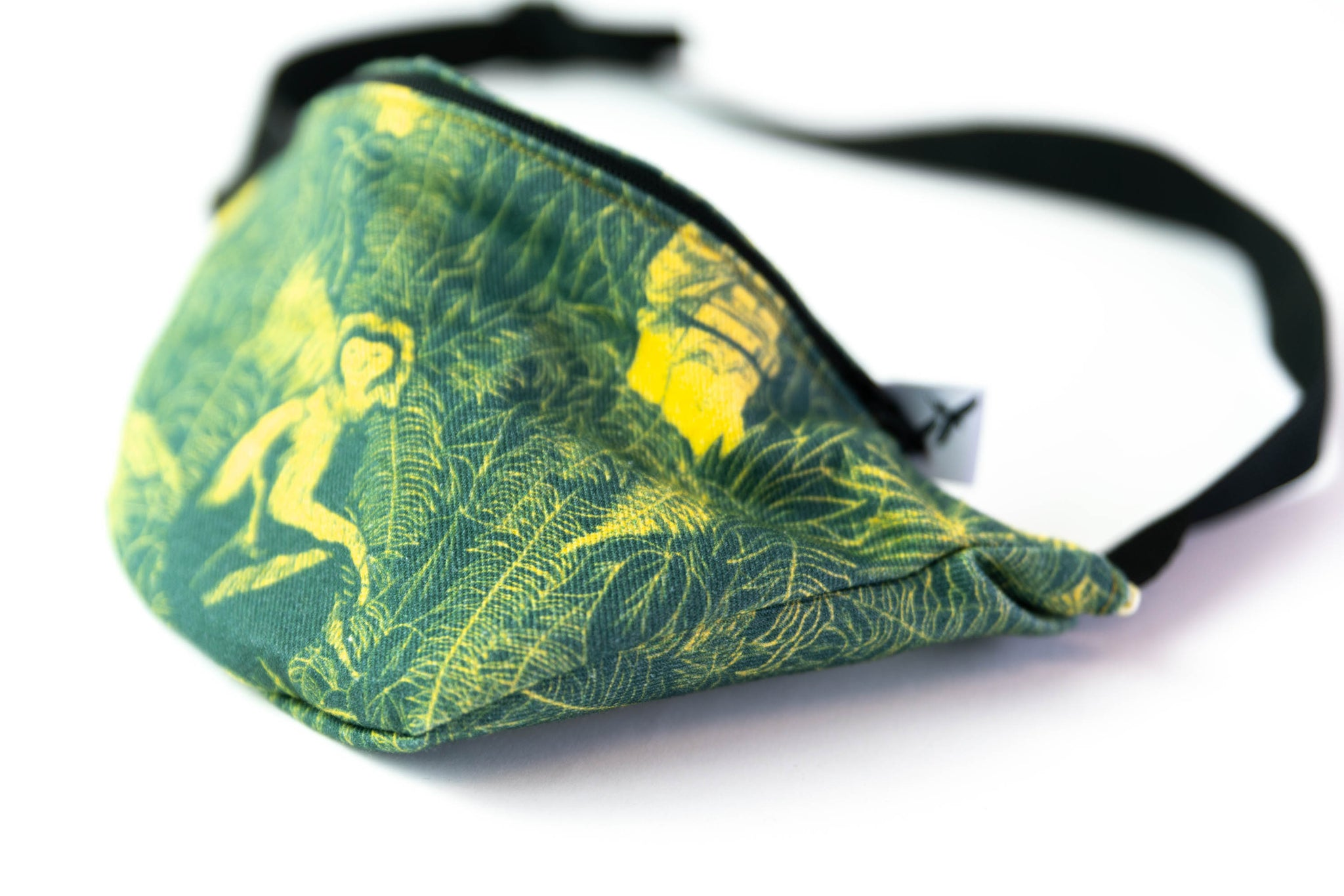 FANNY PACK - BLACK MONKEY yellow