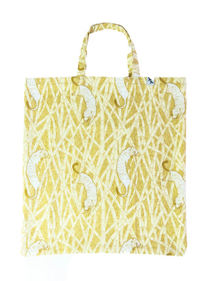 TOTE BAG - TIGERS beige