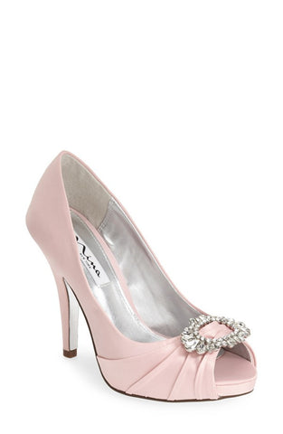 CLEARANCE - 'Elvira' Peep Toe Pump (Women)