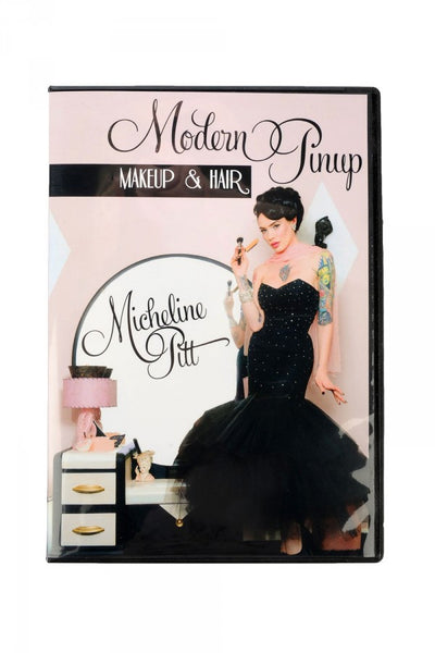 Modern Pinup:  Makeup and Hair Tutorial DVD by Micheline Pitt