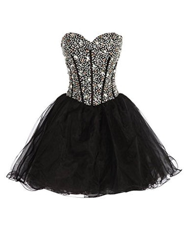 Exlinalesha Sexy Homecoming Dresses Short Prom Gowns 2017 EE001