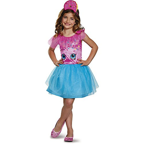 Shopkins D'Lish Donut Classic Girls Child Halloween Dress Up Costume Dress